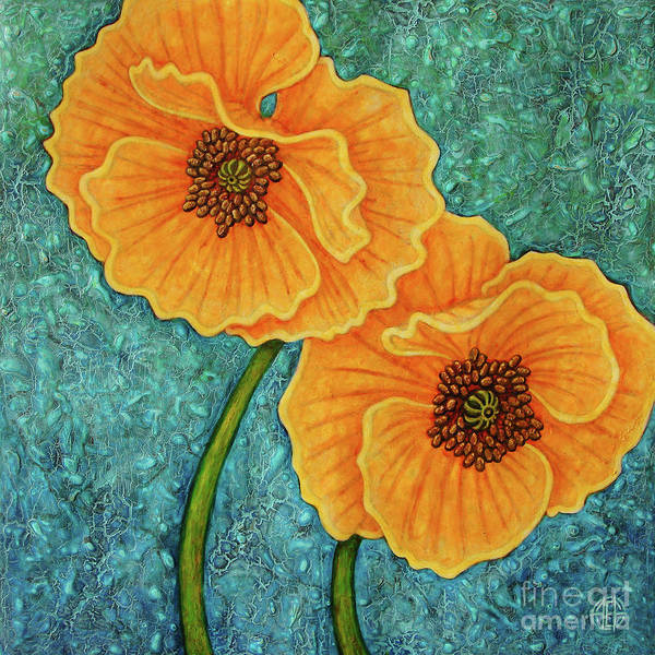 Painting - Growing Optimism by Amy E Fraser