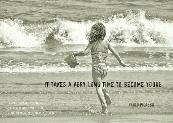 Photograph - Growing Young Quote by JAMART Photography