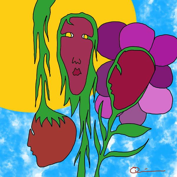 Digital Art - Growth 3 by Jeff Quiros