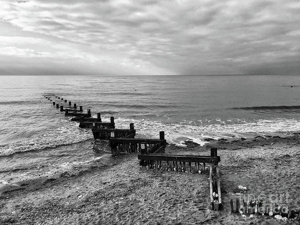 Wall Art - Photograph - Groyne by John Edwards