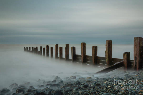 Barmouth Photograph - Groynes by David MM Williams