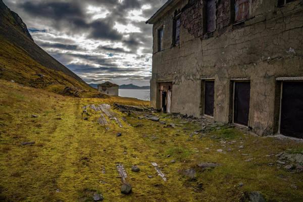 Photograph - Grumant Svalbard by Kai Mueller