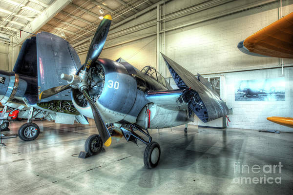 Ju 52 Wall Art - Photograph - Grumman Fm-2 Wildcat by Greg Hager