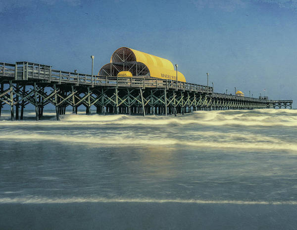 Photograph - Grunge Apache Pier by Dan Sproul