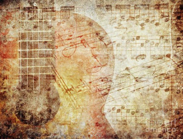 Wall Art - Photograph - Grunge Music by Jelena Jovanovic