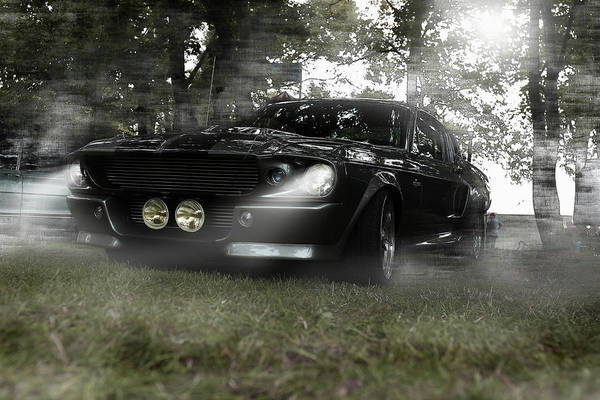 Wall Art - Photograph - Gt 500 - Ford Mustang by Hotte Hue