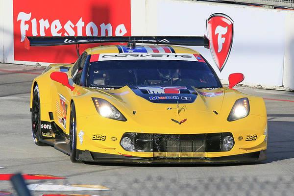 Wall Art - Photograph - Gtlm #3 Corvette by Shoal Hollingsworth