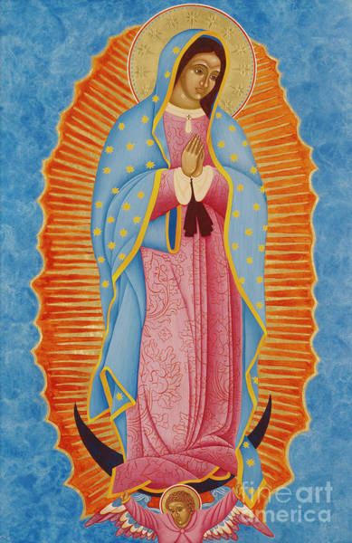 Latino Painting - Guadalupe by Jodi Simmons