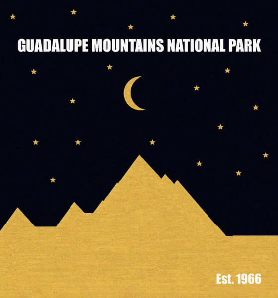 Wall Art - Mixed Media - Guadalupe Mountains N. P. M Series by David Lee Thompson