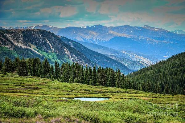 Photograph - Guanella Pass Mountain View by Jon Burch Photography