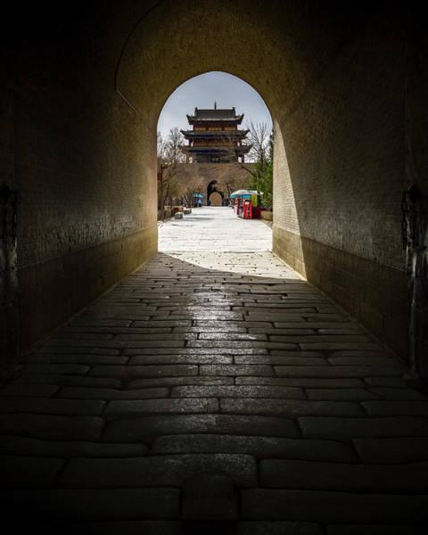 Photograph - Guanghua Tower Gate Guan City Jiayuguan Gansu China by Adam Rainoff