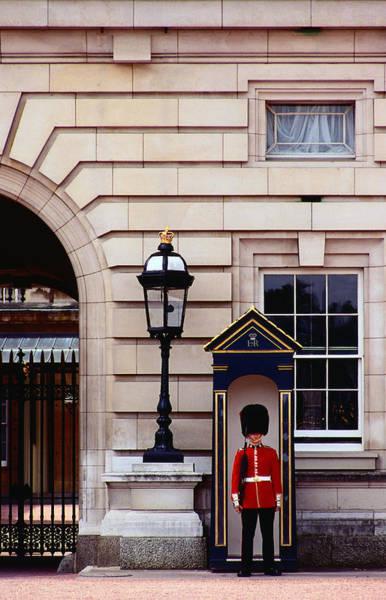 Belgian Culture Photograph - Guard At Buckingham Palace, London by Richard I'anson