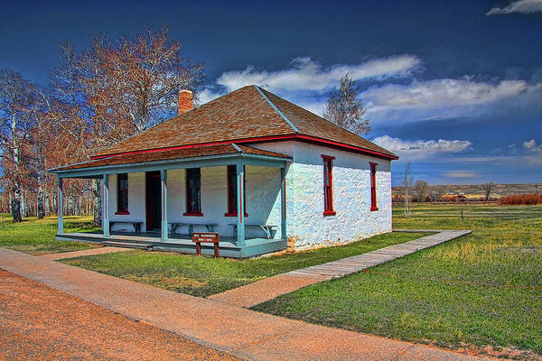Camera Raw Photograph - Guard House Fort Bridger by Brenton Cooper