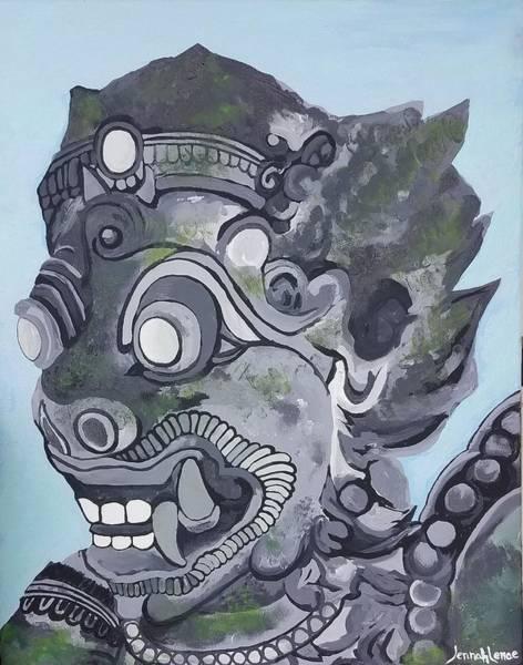 Painting - Guardian  by Jennah Lenae