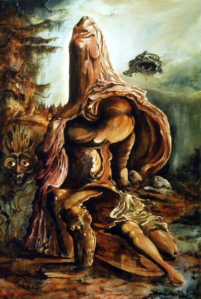 Painting - Guardian Of Pandemonium by Otto Rapp
