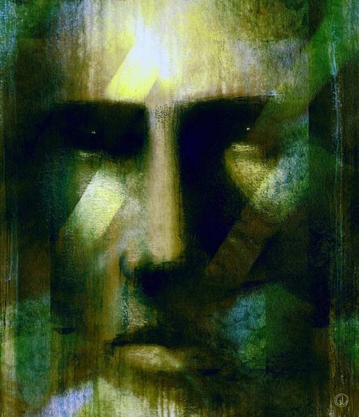 Wall Art - Digital Art - Guardian Of The Forest by Gun Legler