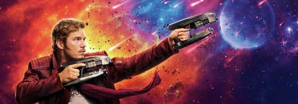 Galaxies Digital Art - Guardians Of The Galaxy Star-lord by Geek N Rock