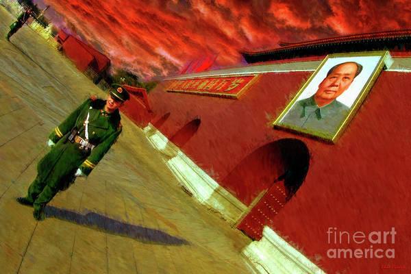 Photograph - Guarding Tiananmen Square by Blake Richards