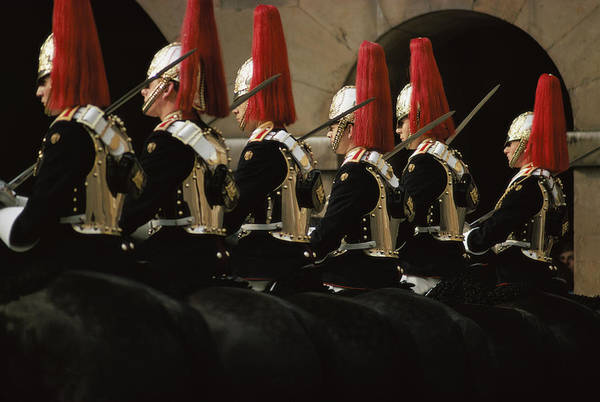 Cavalry Photograph - Guards Ceremony by Epics