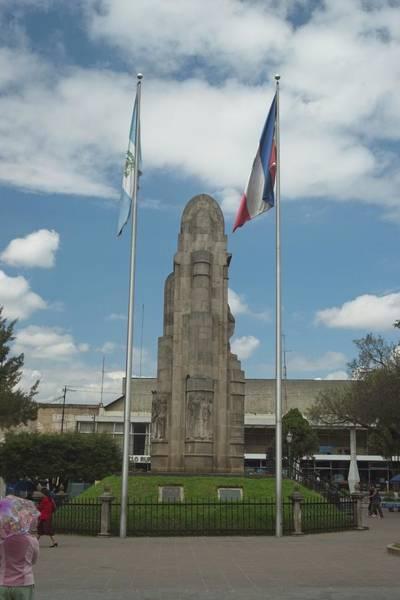 Wall Art - Photograph - Guatemalan Monument, by Douglas Barnett