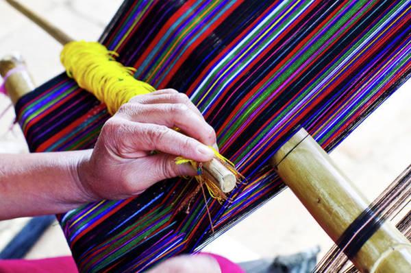 Photograph - Guatemalan Weave by Adam Reinhart