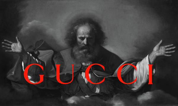 Brand Painting - Gucci-4 by Nikita