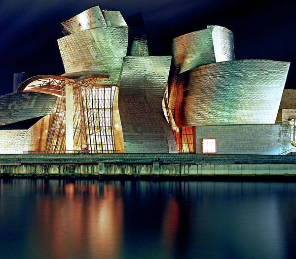 Guggenheim Wall Art - Photograph - Guggenheim by Allan Baxter
