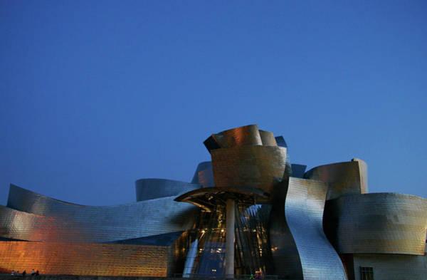 Guggenheim Wall Art - Photograph - Guggenheim Art Museum by Mark R. Thomas