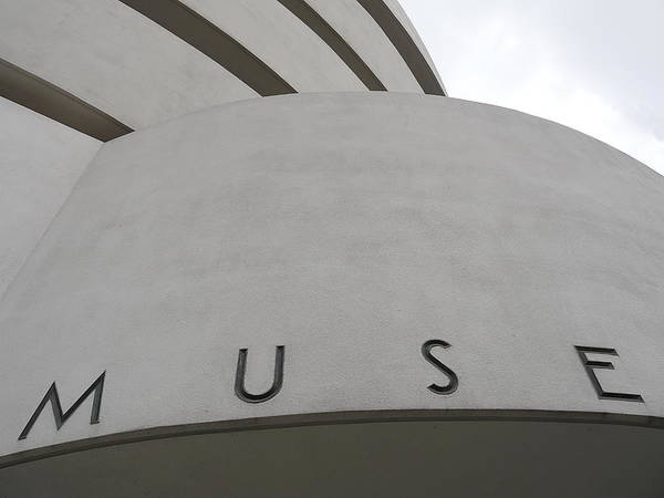 Photograph - Guggenheim Muse by Richard Reeve