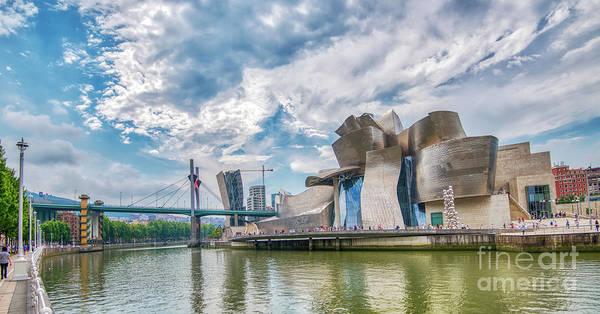 Pyrography - Guggenheim Museum 1 by Mauro Celotti
