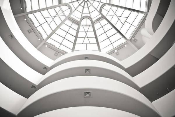 Solomon R. Guggenheim Museum Photograph - Guggenheim Museum by Andreas Schott (bonnix)