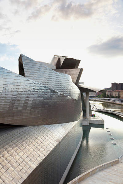Guggenheim Photograph - Guggenheim Museum, Bilbao, Basque by Quadriga Images / Look-foto