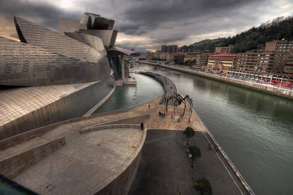 Bilbao Photograph - Guggenheim Museum Bilbao by Gustavo's Photos