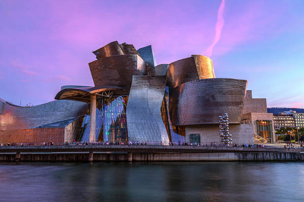Bilbao Photograph - Guggenheim Museum - Bilbao, Spain by Joana Kruse