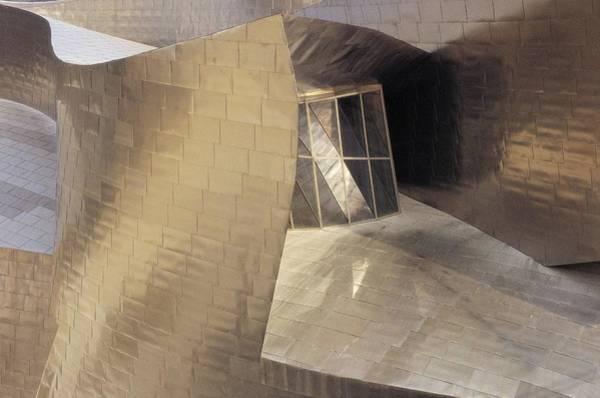 Bilbao Photograph - Guggenheim Museum Detail Of A Window Of by Carma Casula