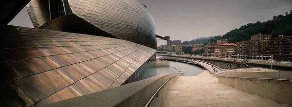 Guggenheim Wall Art - Photograph - Guggenheim Museum In Bilbao Basque by Miguel Palacios
