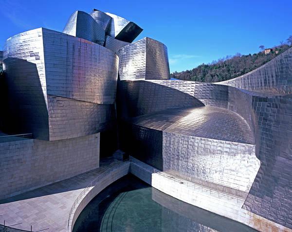 Bilbao Photograph - Guggenheim Museum In Bilbao, Spain by Allan Baxter