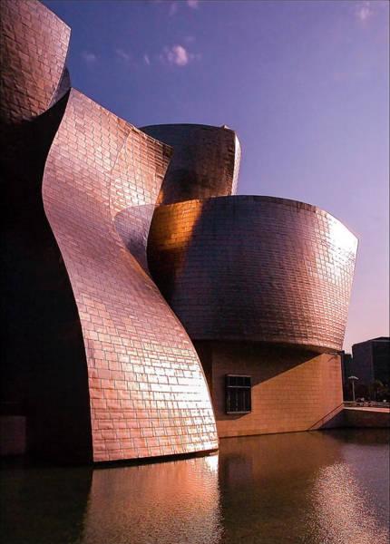 Guggenheim Wall Art - Photograph - Guggenheim Sunset by 0049-1215-16-2610334597