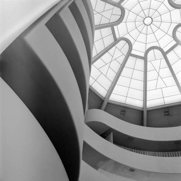 Solomon R. Guggenheim Museum Photograph - Guggenheim Window by Sherman