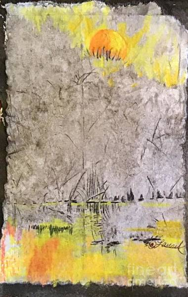 Mixed Media - Guidepost by Laurel Adams