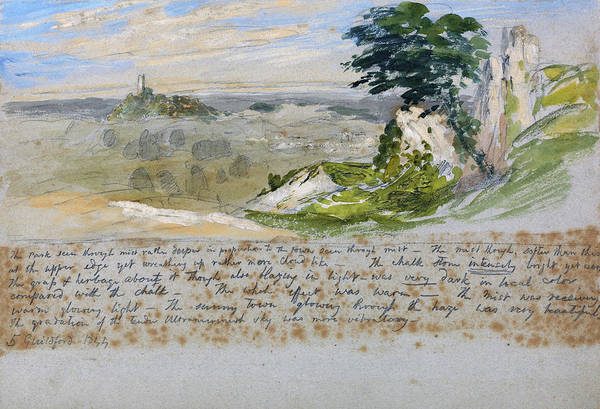 Wall Art - Painting - Guildford - Digital Remastered Edition by Samuel Palmer