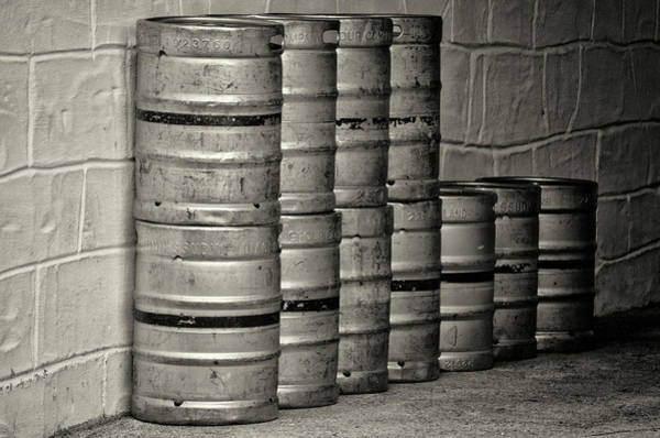 Photograph - Guiness Kegs by Bill Cannon
