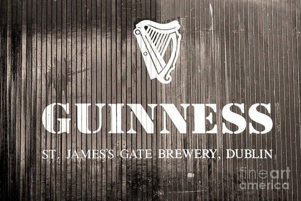 Wall Art - Photograph - Guinness St. James Gate Brewery Dublin by John Rizzuto