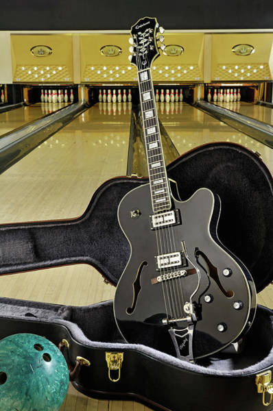 Bowling Alley Photograph - Guitar And Accessories Shoots by Total Guitar Magazine
