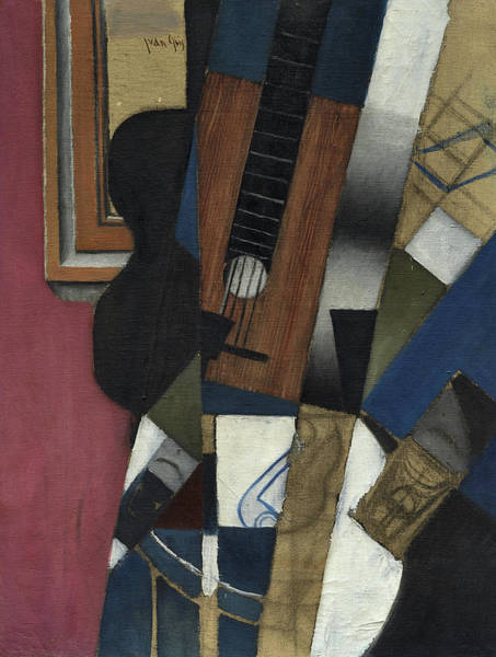 Wall Art - Painting - Guitar And Pipe, 1913 by Juan Gris