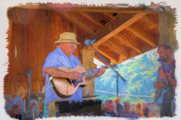 Photograph - Guitar Man by Bill Posner