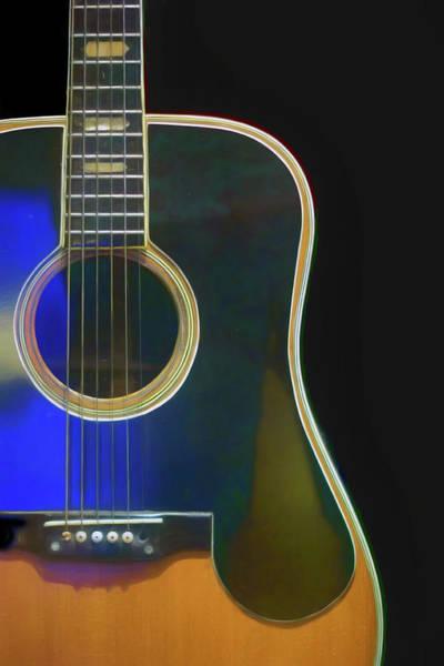 Guitar Neck Photograph - Guitar - Martin D-28 by Nikolyn McDonald