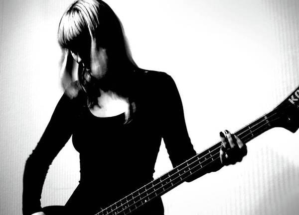 Bangs Photograph - Guitar Player by Yulia.m