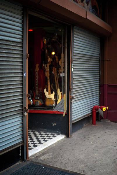 Wall Art - Photograph - Guitar Shop by Joseph O. Holmes / Portfolio.streetnine.com