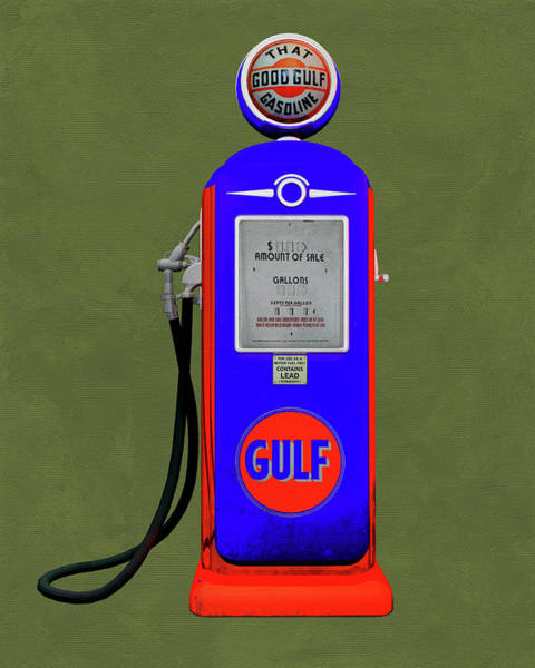Digital Art - Gulf Gas by Jan Keteleer